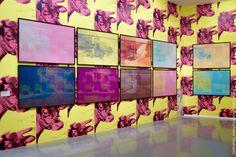 """Exposition """"Warhol Unlimited"""" au musée d'Art Moderne de la ville de Paris (du 2 octobre 2015 au 07 février 2016)."""
