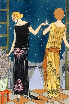 Lanvin dresses, Art-Goût-Beauté, 1923