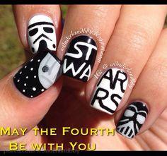 nail art star wars
