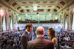 David & Helen's Wedding Ceremony (Main Hall) http://www.tierneyphotography.co.uk