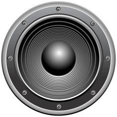 Speaker Transparent Clip Art Image