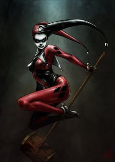 DeviantArt: More Like Joker + Harley: It's complicated by ChrisEvenhuis Hearly Quinn, Gotham Girls, Dc Memes, Dc Comics Art, Dc Characters, Joker And Harley Quinn, Detective Comics, Fan Art, The Villain