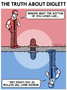 Hahaha! #funny #pokemon #diglet