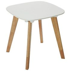 Buy HOME Dahlia End Table - White & Oak Effect at Argos.co.uk, visit Argos.co.uk to shop online for Occasional and coffee tables