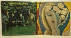 Derek & The Dominos Lot of 4 Vinyl Record Albums - In Concert & Layla