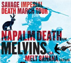 The Melvins and Napalm Death Team Up for Savage Imperial Death March TourWithGuitars