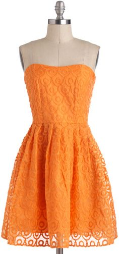 Modcloth Glow Dancing Dress