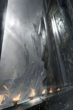 The Gates of Numenor, Pluto's Castle.