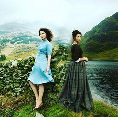 Outlander Funny, Outlander Quotes, Outlander Series, Claire Fraser, Jamie And Claire, Jamie Fraser, Caitriona Balfe Outlander, Highlands Warrior, Scottish Clothing