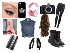 """""""Outfit of the day!!!!"""" by kikilee01 on Polyvore featuring Jean-Paul Gaultier, 2LUV, Olympus, Casetify, LORAC, Balenciaga, cute, LoveIt, ootd and yass"""