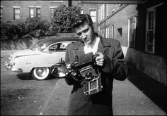 Elvis with camera