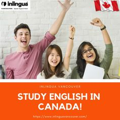 Are you looking for a English learning school in Canada? Visit inlingua Vancouver the leading language school to study English in Canada English Study, Learn English, Vancouver, English Language Course, Language School, Canada, Have Fun, Learning, Learning English