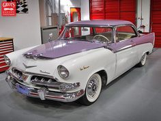 1956 Dodge La Femme- it's not a dream house until you got pretty things in the driveway!!! Made specifically for women