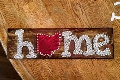 Ohio Home String Art by ParrCraft on Etsy