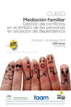 Nuevo curso FAAM en el que COlaboramos http://faam.es/index.php/formacion-faam/item/mediacion-familiar-gestion-de-conflictos-en-el-ambito-de-las-personas-en-situacion-de-dependencia