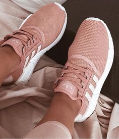 Blush Adidas original superstar sneakers