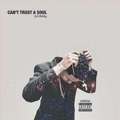 """Bibby is back with a hard new joint called """"Can't Trust A Soul. Previously: G Herbo ft. Lil Bibby – Don't Worry (Video) Music Do, Good Music, Lil Bibby, Hip Hop Albums, Kid Cudi, Album Covers, Trust, Canning, Heart Eyes"""