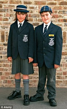 There is a gap in prices for uniforms from officially sanctioned stores and supermarkets