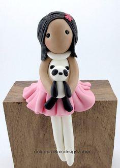 Cold Porcelain Doll - Ms. J by Cold Porcelain Designs, via Flickr