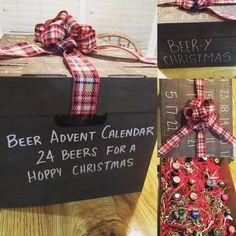 24 Day Craft Beer Advent Calendar (beer not included) Craft Beer Advent Calendar, Adult Advent Calendar, Advent Calendar Fillers, Advent Calendar Boxes, Advent Calenders, Christmas Calendar, Diy Calendar, Advent Calendar Ideas For Adults, Craft Beer Gifts