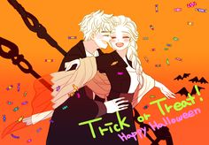 Happy halloween! XD Long time no see guys!