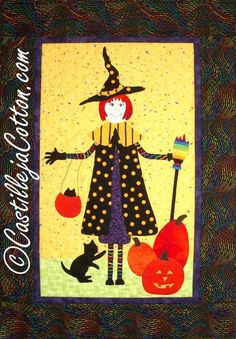 Bewitched : Halloween quilt pattern