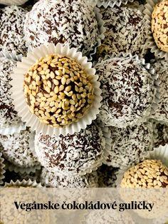 Čertove oči s višňami v rume - Vegan Lady Stuffed Mushrooms, Vegan, Baking, Vegetables, Lady, Breakfast, Food, Stuff Mushrooms, Morning Coffee