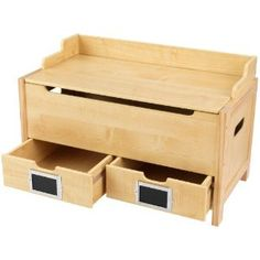Toy Chest - I would want a flat top, but with the bottom drawers for smaller toys