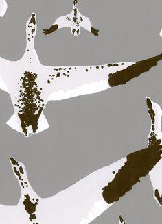 Cavern Home Migration Wallpaper London modern wallpaper Print Wallpaper, Home Wallpaper, Contemporary Wallpaper, Pretty Wallpapers, Beautiful Wallpaper, Burke Decor, Designer Wallpaper, Pattern Design, Design Inspiration