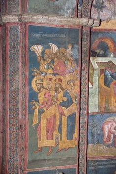 Visoki Dečani monastery, 14th c. , Kosovo.