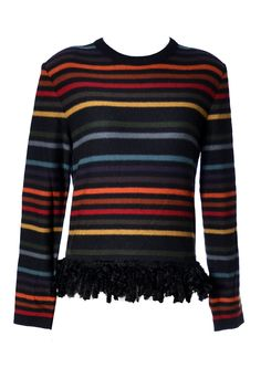 Dressing Vintage - Sonia Rykiel vintage striped sweater 1980's, $195.00 (http://dressingvintage.com/sonia-rykiel-vintage-striped-sweater-1980s/)