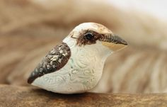 Animal Totem Kookaburra Bird Figurine
