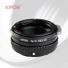 Kipon Macro Adapter with Helicoid Tube for Nikon G Mount Lens to Sony NEX Camera #KIPON