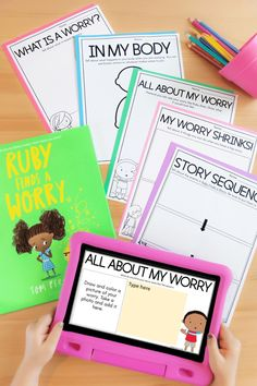 Free book companion for Ruby Finds a Worry by Tom Percival. Free printable and digital activities for Social-Emotional Learning by Teaching with Haley. Bringing in powerful read-alouds is a great first step for Social-Emotional Learning and managing worry and anxiety for kindergarten, first grade, and second-grade students. Great kindness lesson plans for students. Easy to share with parents virtually and use in homeschooling. Learn more.