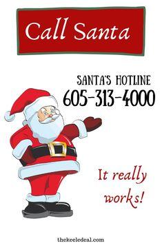 Call Santa at the Sa