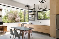 Design your dreams. Minimalist House Design, Minimalist Home, Kitchen Interior, Home Interior Design, Space Interiors, Open Plan Kitchen, Shelving, House Plans, Sweet Home