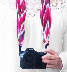 DIY Kameragurt - Nur noch Diy Camera Strap, Headset, Stuff To Buy, Camera, Tutorials, Breien, Headphones, Headpieces, Hockey Helmet