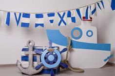 19 ideas birthday party photo booth props kids for 2019 Safari Decorations, Backdrop Decorations, Baby Shower Decorations, Backdrops, Sailor Birthday, Birthday Diy, Photowall Ideas, Baby Shower Backdrop, Nautical Party