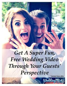 This sounds like an awesome idea!!! I want a wedding video but I really dont want to pay lot for one. I have been working so hard and spending so much money on this wedding. WeddingMix seems like a great option to remember it all and keep it affordable!