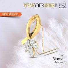 "For there is no real definition to love as it stays pure with ""The Bluma Pendant"" by WearYourShine  #InstaJewellery #jewelry #Jewellery #diamond #Love #Pendants #PCJeweller"