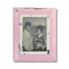 Pink Post Modern Rustic Frame by Luna Designs