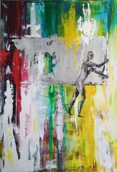 Gerhart Richter Tribute - 1 - Contemporary Art Painting - Florin Coman