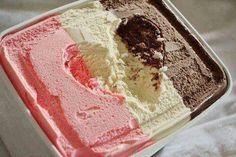 #pink #icecream #strawberry #vanilla #chocolate #love #loveheart