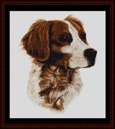 Brittany - Cross Stitch Collectibles fine art counted cross stitch pattern