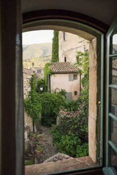 Hotel Crillon, Ann Street Studio, Window View, Through The Window, Northern Italy, South Of France, Adventure Is Out There, Oh The Places You'll Go, Countryside