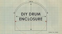 Video on building your own curved drum enclosure