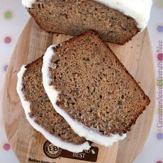 Chai Banana Bread with Cream Cheese Frosting Recipe
