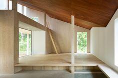 House in Mount Fuji by Hiroki Tominaga Atelier #architecture #interiordesign   Dezeen.com