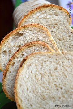 Jasny chleb na zakwasie, łatwy