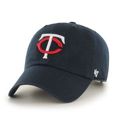 e355179289f Minnesota Twins Lil Shot Two Tone Captain Navy 47 Brand YOUTH Hat ...